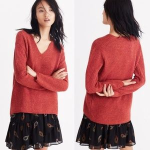 MADEWELL Woodside Pullover Knit Sweater